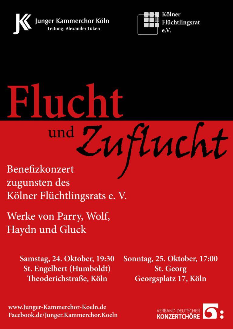 Flucht und Zuflucht 2015 - Plakat