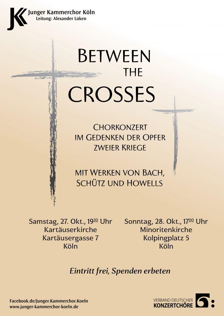 Between the Crosses - Plakat
